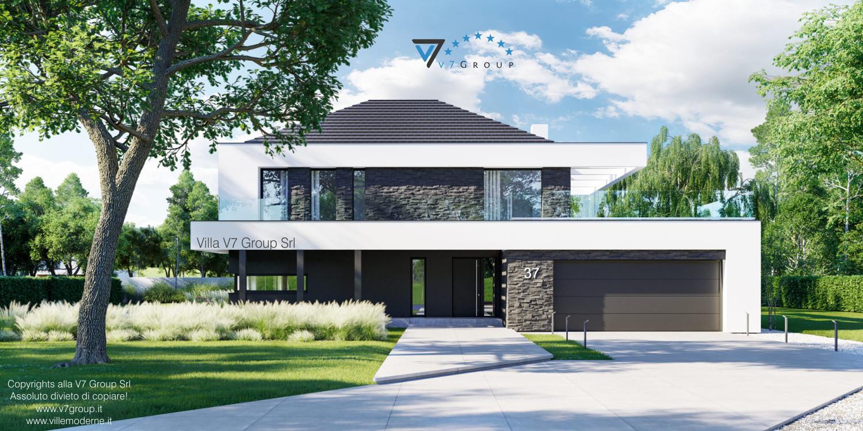 Immagine Villa V37 - nuova vista frontale